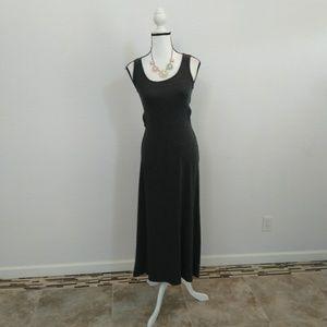 Xhilaration grey maxi dress size xsmall